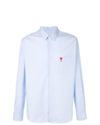 AMI Alexandre Mattiussi Classic Wide Fit Ami De Coeur Shirt