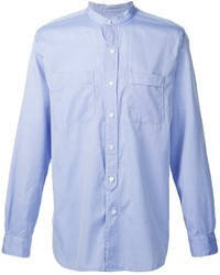 Engineered Garments Grandpa Collar Button Down Shirt