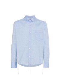 Sulvam Highlight Pattern Shirt