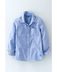 Mini Boden Laundered Cotton Sport Shirt