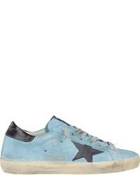 Light Blue Low Top Sneakers