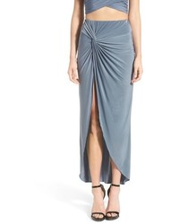 Missguided Knot Maxi Skirt