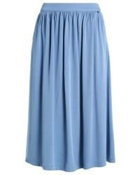 Mulan pleated skirt light thames medium 4239485