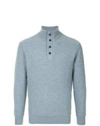 Gieves & Hawkes Ribbed Knit Sweater