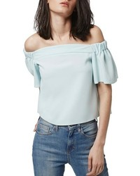 Topshop Livi Off The Shoulder Top