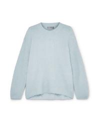 Light Blue Oversized Sweater