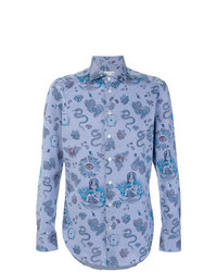Etro Paisley Mixed Print Shirt
