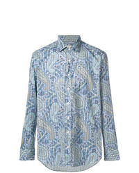 Etro Paisley Stretch Shirt