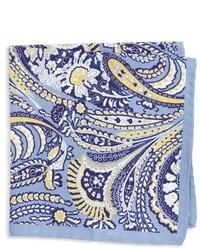 Paisley silk pocket square medium 615650