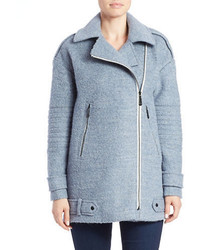 Light Blue Pea Coat