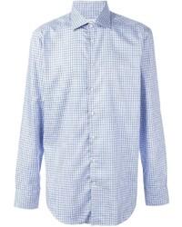Plaid button down shirt medium 787556