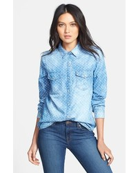 Hinge Dot Chambray Shirt