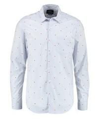 Selik regular fit shirt light blue red medium 3777920