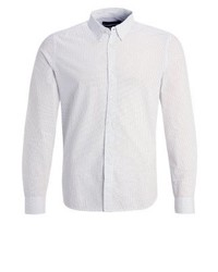 Slim fit shirt whitemarine blue medium 4205315