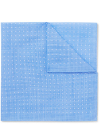 Anderson & Sheppard Polka Dot Cotton Pocket Square