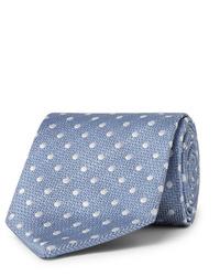 Favourbrook 75cm Polka Dot Silk Jacquard Tie