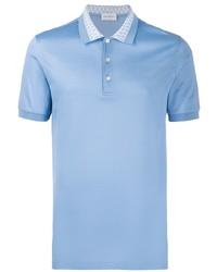 Salvatore Ferragamo Gancini Collar Polo Shirt