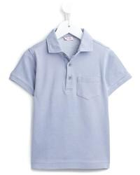 Il Gufo Patch Pocket Polo Shirt