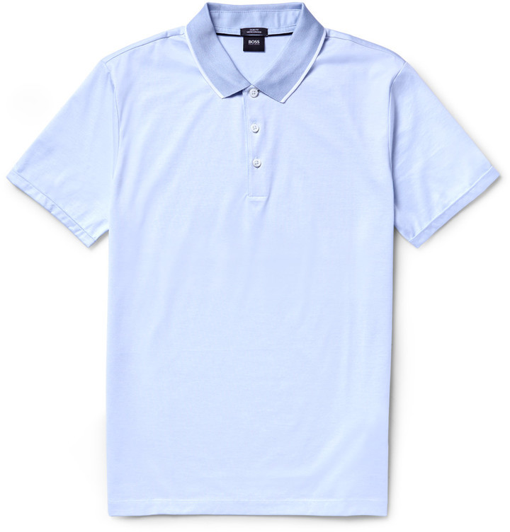 794897d32 ... Hugo Boss Slim Fit Mercerised Cotton Polo Shirt ...