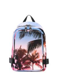 Balmain Palm Tree Print Backpack