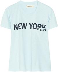 Elizabeth and James Bowery Printed Slub Cotton Jersey T Shirt