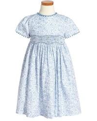 Luli & Me Floral Print Short Sleeve Dress