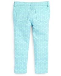 Vineyard Vines Anchor Print Skinny Jeans