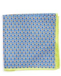 Ted Baker London Novelty Print Silk Pocket Square