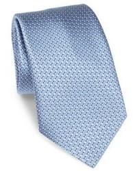 Ermenegildo Zegna Diamond Printed Silk Tie