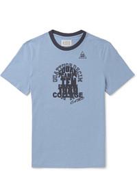 Maison Margiela Printed Cotton Jersey T Shirt
