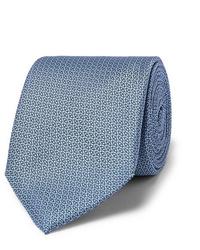 Canali 8cm Silk Jacquard Tie