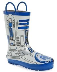 Western Chief Toddler Boys Star Wars R2 D2 Waterproof Rain Boot