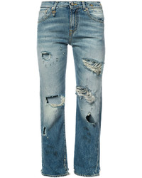 R13 distressed boyfriend jeans medium 5252653