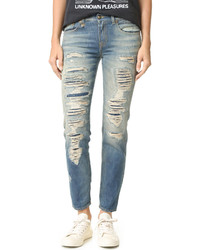 R13 shredded boyfriend jeans medium 701880
