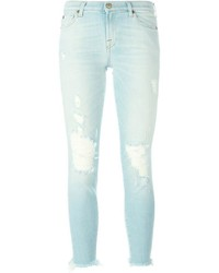 Distressed skinny jeans medium 632331