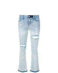 RtA Cropped Flare Jeans