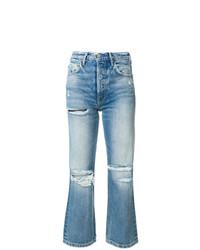 Grlfrnd Slim Distressed Jeans