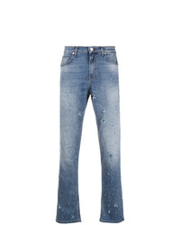 Versace Jeans All Over Distressed Jeans