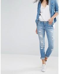 a089dba2 Women's Light Blue Ripped Jeans by Lee | Women's Fashion | Lookastic UK