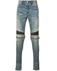 Amiri Moto Skinny Fit Jeans