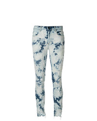 T by Alexander Wang Bleached Skinny Jeans