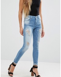 Only Ultimate Skinny Destroyed Jeans