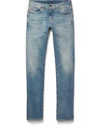 Skinny fit 15cm hem distressed stretch denim jeans medium 756113