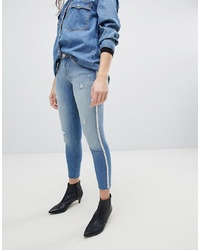 Only Skinny Jean With Pearl Embellisht