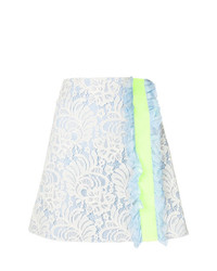 Brognano Lace Ruffle Trim Skirt
