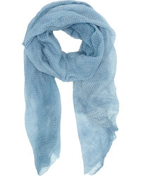 Light Blue Scarf