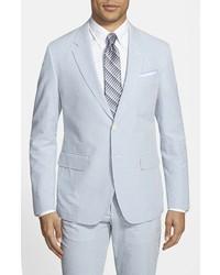 Haspel trim fit seersucker cotton sport coat medium 243586
