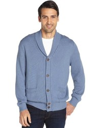 Light Blue Shawl Cardigan