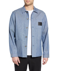 Light Blue Shirt Jacket