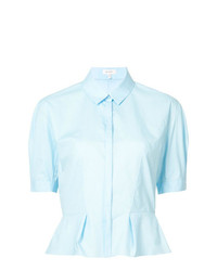 DELPOZO Button Up Blouse